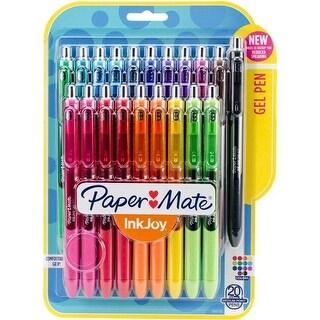 Sanford 0.7 mm Paper Mate Inkjoy Gel Pens, Assorted Color - 20