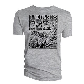 2000AD Mens T-Shirt Dr & Quinch Time Twisters 05