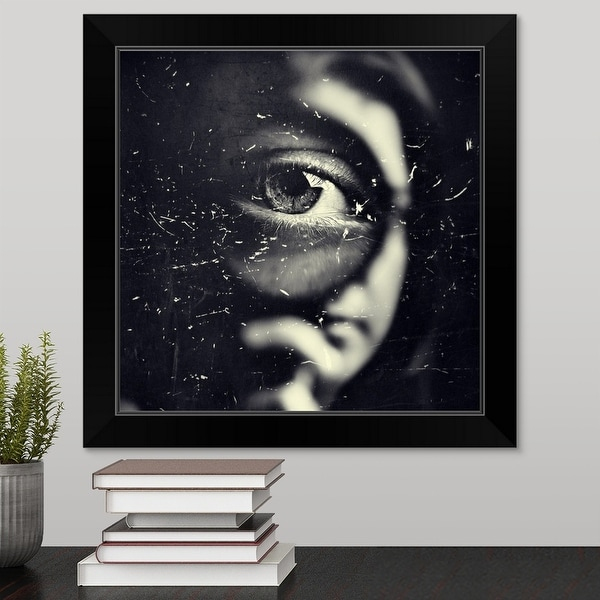 """""""I Eye"""" Black Framed Print"""