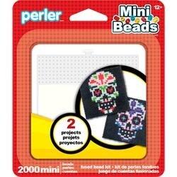 Sugar Skull - Perler Mini Fused Bead Kit