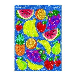Festive Fruit Sparkle Stickers