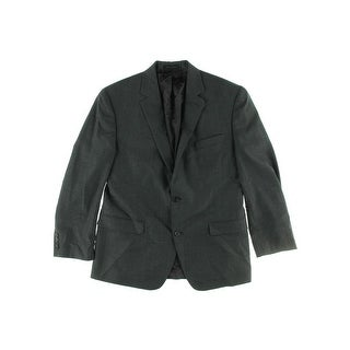 Shaquille O'Neal Mens Wool Double Vent Two-Button Blazer - 42L