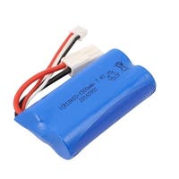 DC 7.4V 1500mAh Rechargable Lithium Battery Pack for RC Aircraft Blue