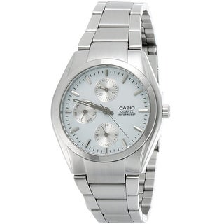 Casio Quartz Watch - Multi Function Stainless Steel & Water Resistant