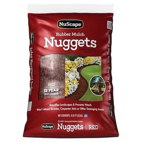 International Mulch NS08RW Rubber Nuggets, Redwood