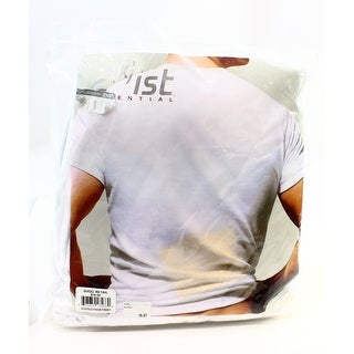 2(x)ist NEW Bright White Mens Size XL Three Pack V-Neck Tee T-Shirts