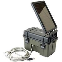 Hme 12-volt Battery Box With 2-watt Solar Panel