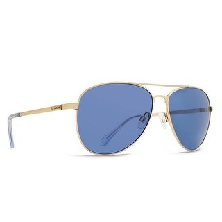Vonzipper Sunglasses Farva Gold Gloss Frame with Navy Lens