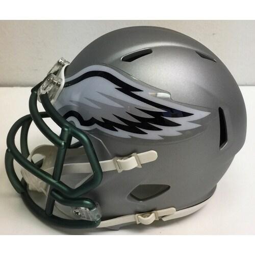 Riddell Philadelphia Eagles Blaze Speed Mini Helmet Grey