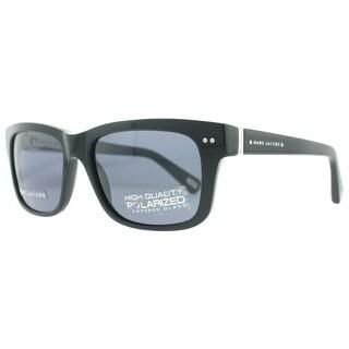 Marc Jacobs MJ 317/S 807 3H Black Unisex Polarized Sunglasses 53mm - 53mm-22mm-135mm