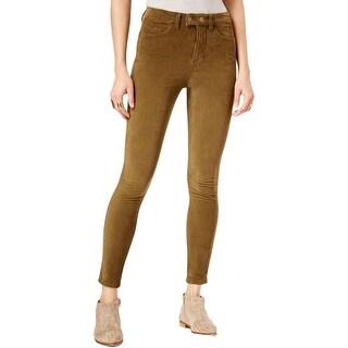 Free People Womens Skinny Pants Corduroy High Rise