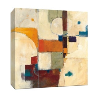 "PTM Images 9-153051  PTM Canvas Collection 12"" x 12"" - ""Autumn Patchwork II"" Giclee Abstract Art Print on Canvas"