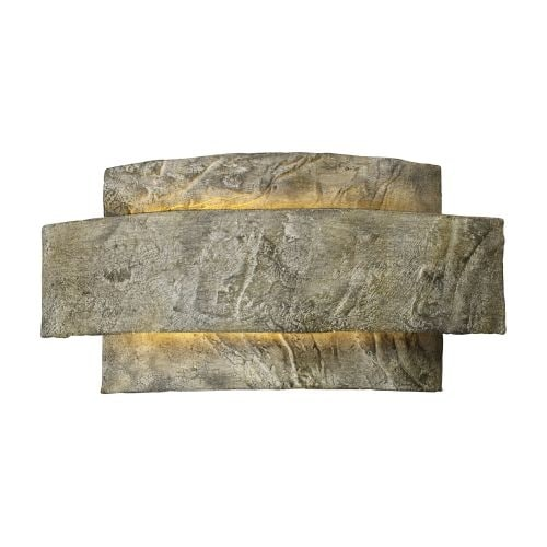 Landmark Lighting 64000-1 Contemporary / Modern Single Light Ambient Lighting Outdoor Wall Sconce from the Aubrey Collection