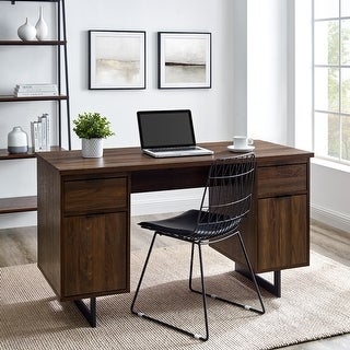 Link to Copper Grove 54-Inch Executive Storage Desk Similar Items in Executive Desks