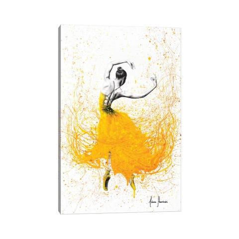"iCanvas ""Daisy Dance"" by Ashvin Harrison Canvas Print"