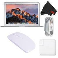 "Apple 13.3"" MacBook Air 128GB SSD #MQD32LL/A (Newest Version 2017 Model) Starter Bundle"
