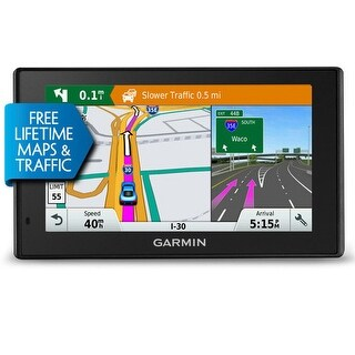 Garmin DriveSmart 50LMTHD GPS Navigator 5 HD Touchscreen display maps of North America