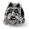 Sterling Silver Reflections Scottish Terrier Dog Bead (4mm Diameter Hole) - Thumbnail 0