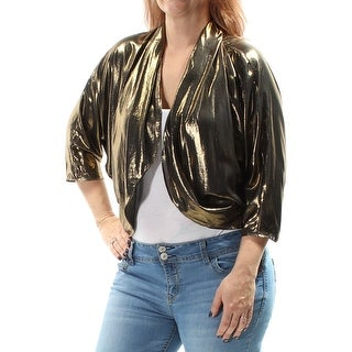 MSK $49 Womens 1192 Gold Party Jacket L B+B