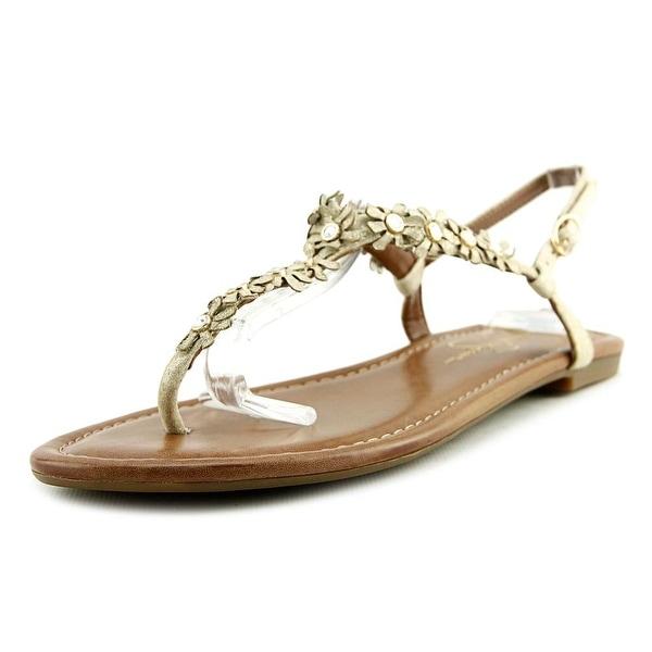 Jessica Simpson Riel Women Pale Gold Sandals