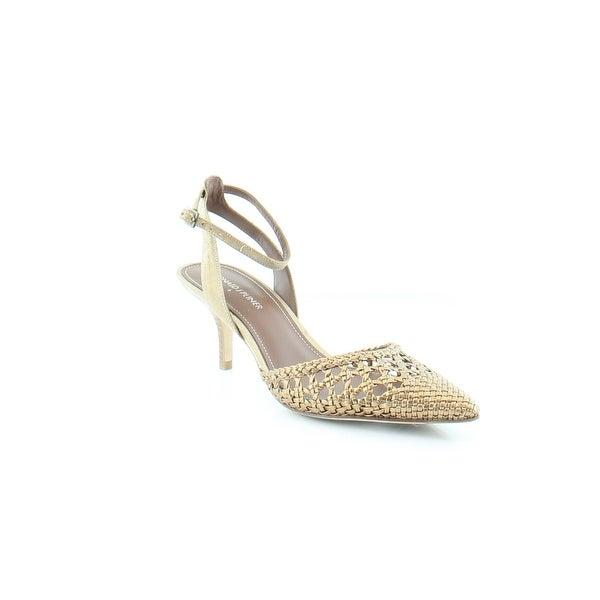 Donald J Pliner Fresia Women's Heels Lt. Bronze - 7.5