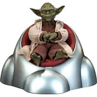 Star Wars Yoda Jedi Master Sideshow Toys 1:6 Scale Figure - multi