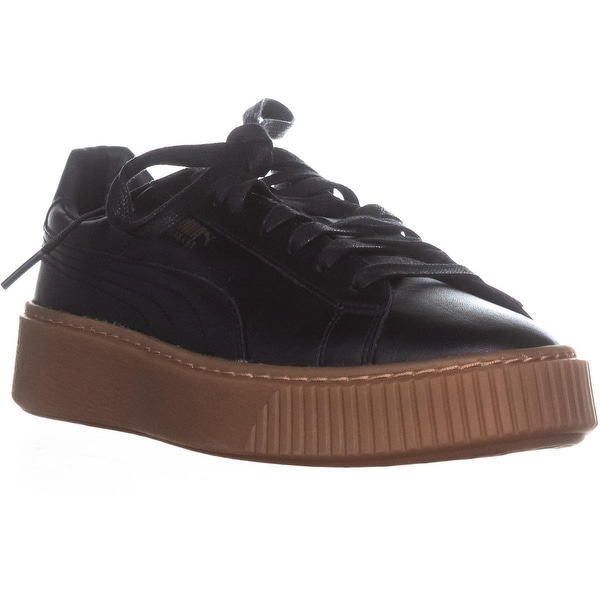 8600b2b11020 Shop PUMA Basket Platform Core Lace Up Sneakers