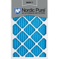 Nordic Pure 14x24x1 Pleated MERV 7 AC Furnace Air Filters Qty 3