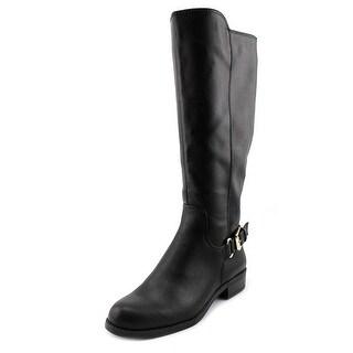 Alfani Jarabina Wide Calf Round Toe Synthetic Knee High Boot