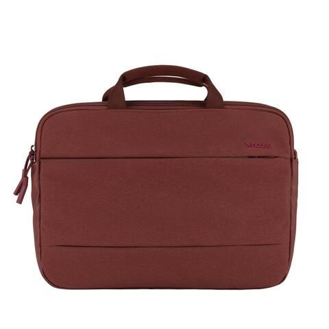 """Incase City Brief 13"""" MacBook Pro Shoulder Bag (Deep Red)"""
