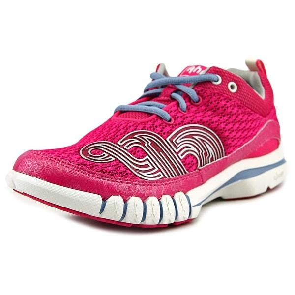 Ahnu Yoga Flex Women Round Toe Canvas Pink Running Shoe