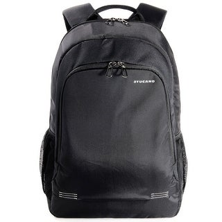 """Tucano Forte Water Resistant Multifunctional Lightweight Notebook Backpack for Laptops up to 15.6"""""""