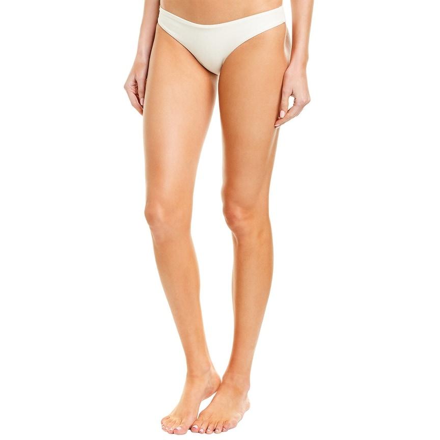 Pilyq Basic Ruched Teeny Bikini Bottom