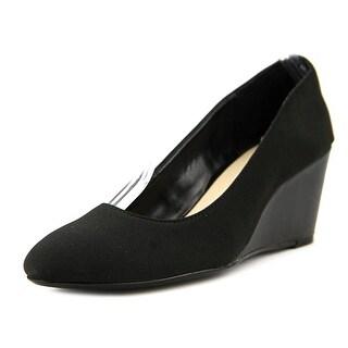 Taryn Rose Katrina Women Open Toe Synthetic Black Wedge Heel (Option: 10.5)