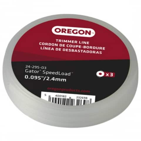 "OREGON 24-295-03 SpeedLoad Replacement Disc Trimmer Line, 0.095"" Line, 3-Pack"