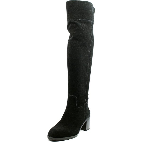 Michael Michael Kors Paulette Round Toe Suede Over the Knee Boot