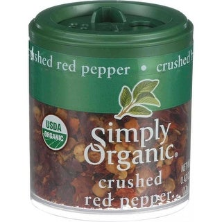 Simply Organic Crushed Red Pepper - (Case of 6 - 0.42 oz)