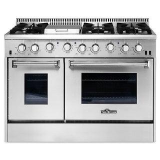Thor Kitchen HRG4808U 48 Inch Wide 6.7 Cu. Ft. Capacity Freestanding Gas Range w