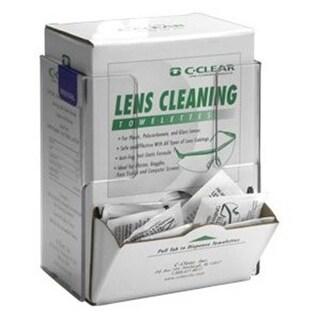 RackEm Racks Lens Cleaning Towelette-Respirator Wipe - Box Holder-