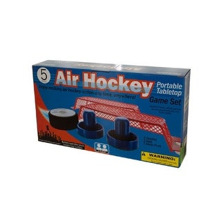 Daily Basic Party Portable Tabletop Air Hockey Game Set