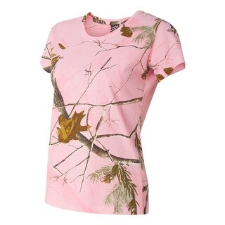 Ladies' Realtree Camouflage T-Shirt (5 options available)