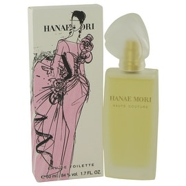 Eau De Toilette Spray 1.7 oz Hanae Mori Haute Couture by Hanae Mori - Women