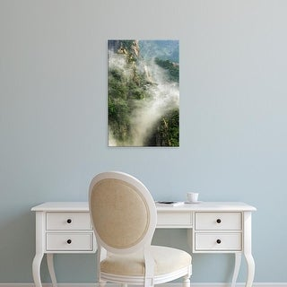 Easy Art Prints Adam Jones's 'Misty Peaks' Premium Canvas Art