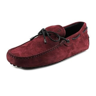 Tod's Laccetto My Colors New Gommini 122 EW Moc Toe Suede Loafer