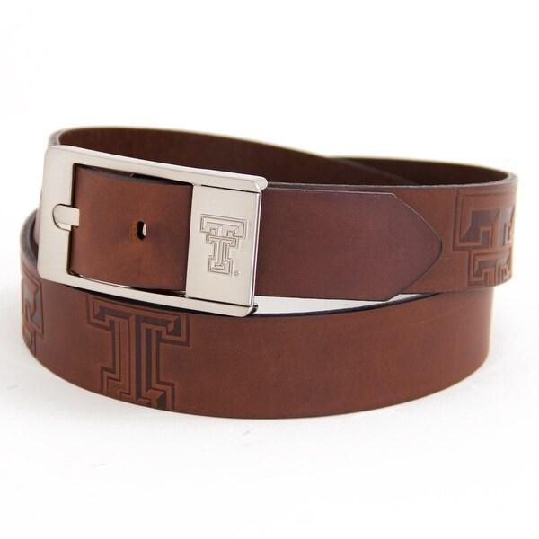 Texas Tech University Brandish Leather Belt