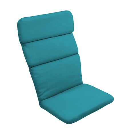 Arden Selections Outdoor 45.5 x 20 in. Adirondack Chair Cushion - 45.5 in L x 20 in W x 2.25 in H