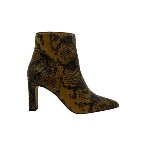 Steven by Steve Madden Women's Shoes Jenn Pointed Toe Ankle Fashion Boots