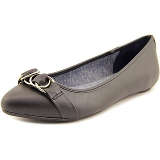 Dr. Scholl's Rianna Round Toe Leather Flats