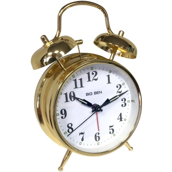 Westclox 70010G Big Ben Twin Bell Alarm Clock