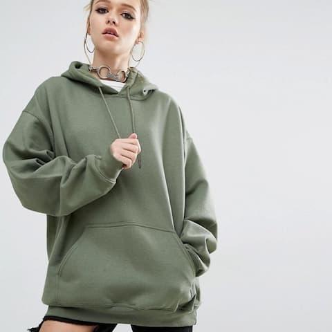 Women's Loose Sports Hooded Bat Sleeve Sweater
